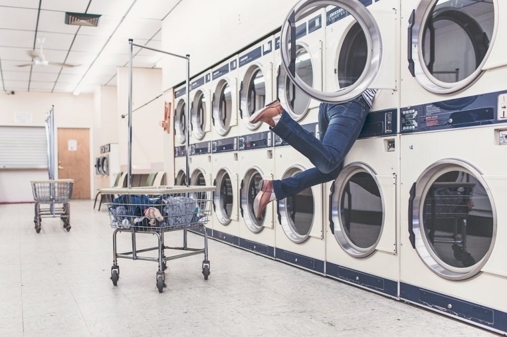 laver vêtement en lin