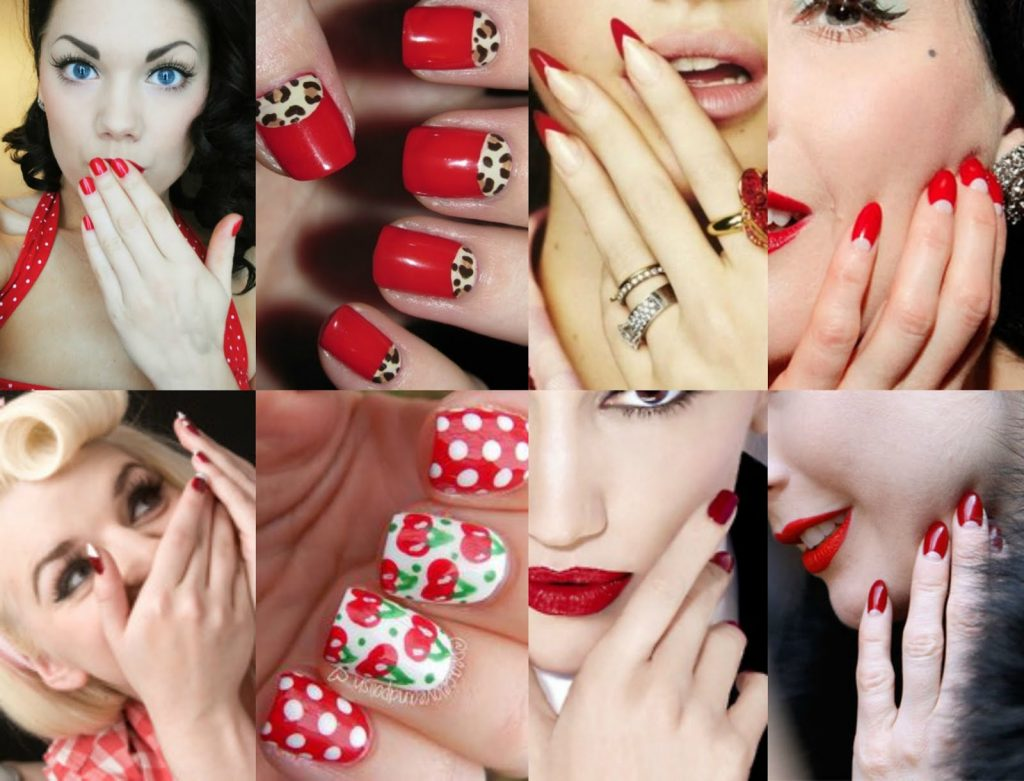 ongles pin up