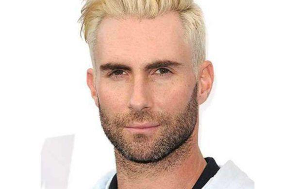 homme avec teinture blonde 3