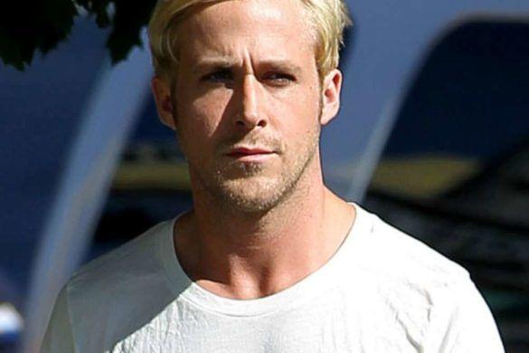 ryan gosling teinture blonde