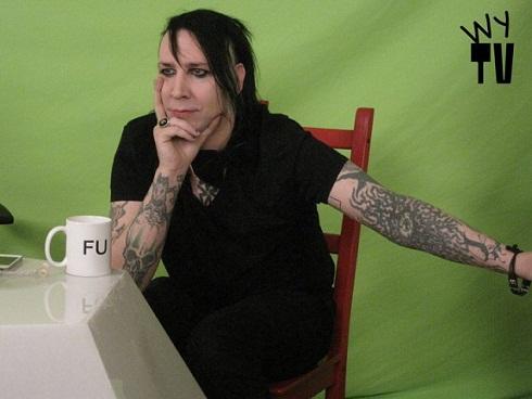 Marilyn Manson à la télé