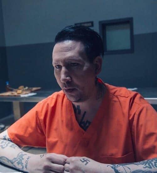 Marilyn Manson dans un film