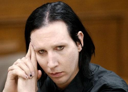 Marilyn Manson sans maquillage
