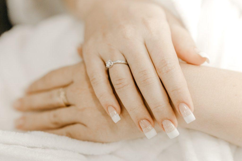 blanchissement des ongles